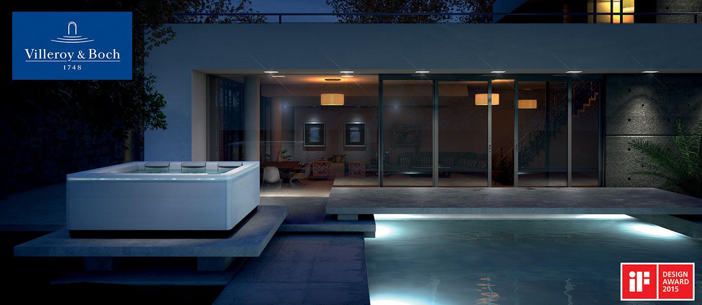 Villeroy & Boch Outdoor Whirlpool Design Line