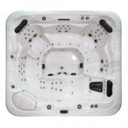 EAGO Whirlpools Außenwhirlpool Innovation IN-590 Innenansicht