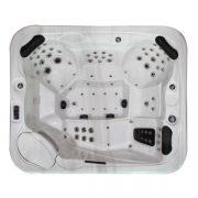 EAGO Whirlpool Außenwhirlpool Innovation IN-591 Innenansicht