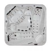 EAGO Whirlpool Außenwhirlpool Innovation IN-598 Innenansicht