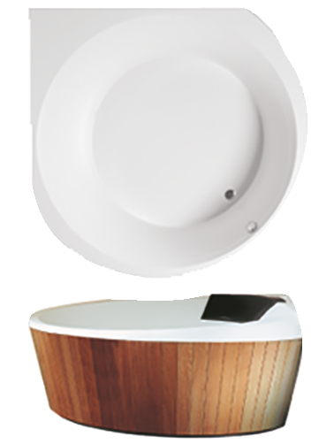 indoor whirlpool luxxus von villeroy boch. Black Bedroom Furniture Sets. Home Design Ideas