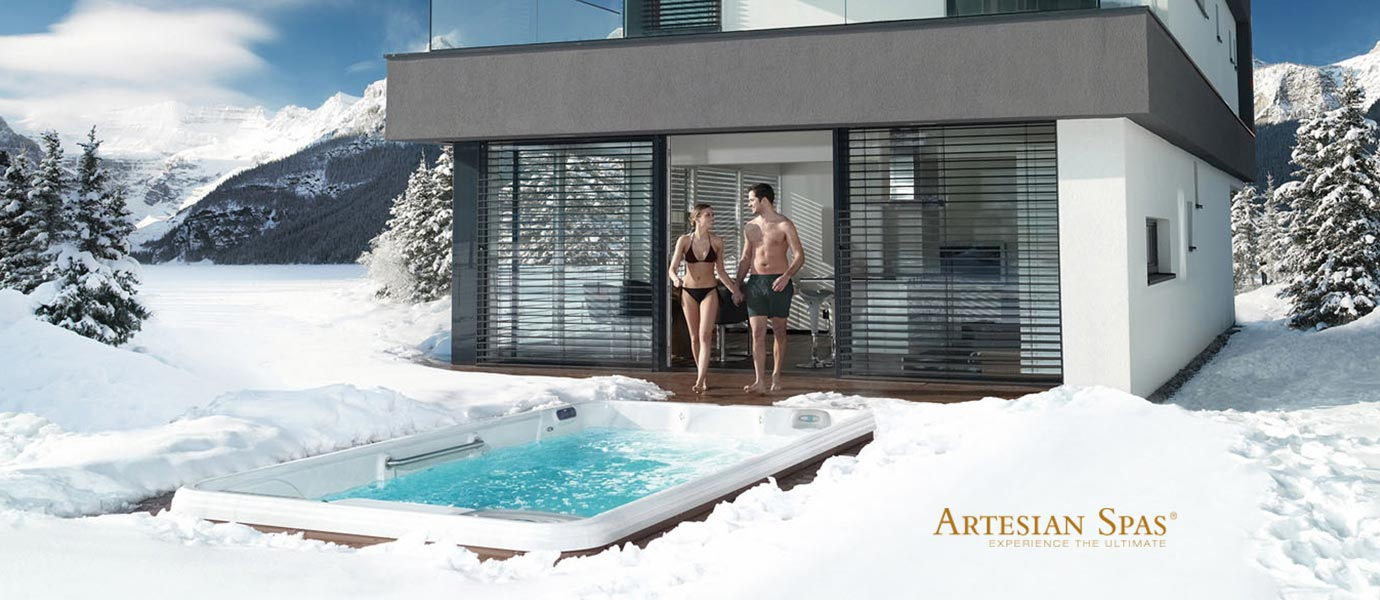 Artesian Spa Swim Spa Winter