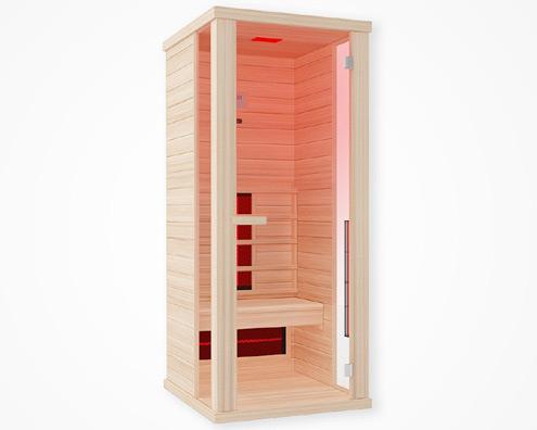 Hochwertige Sauna von Wellis